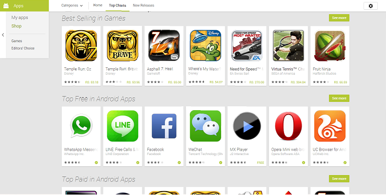 Get Android app .apk file from google play