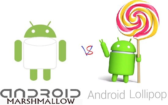 Android Marshmallow vs Lollipop