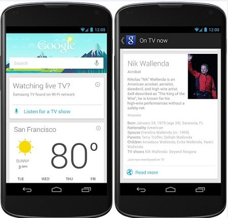 Google now on tap - Difference b/w Android Marshmallow & Lollipop