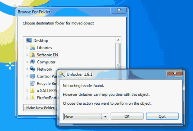 delete undeletable files or malware infected Files