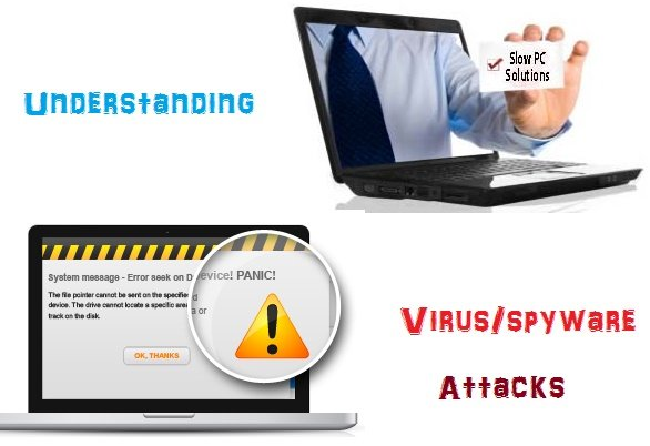 Symptoms to Recognizing virus & spyware attacks on your PC