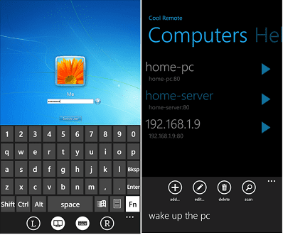 Turn any phone into a wireless remote mouse and keyboard