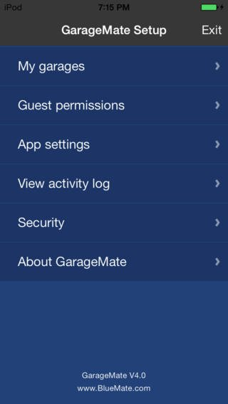 garage door opener apps for iphone