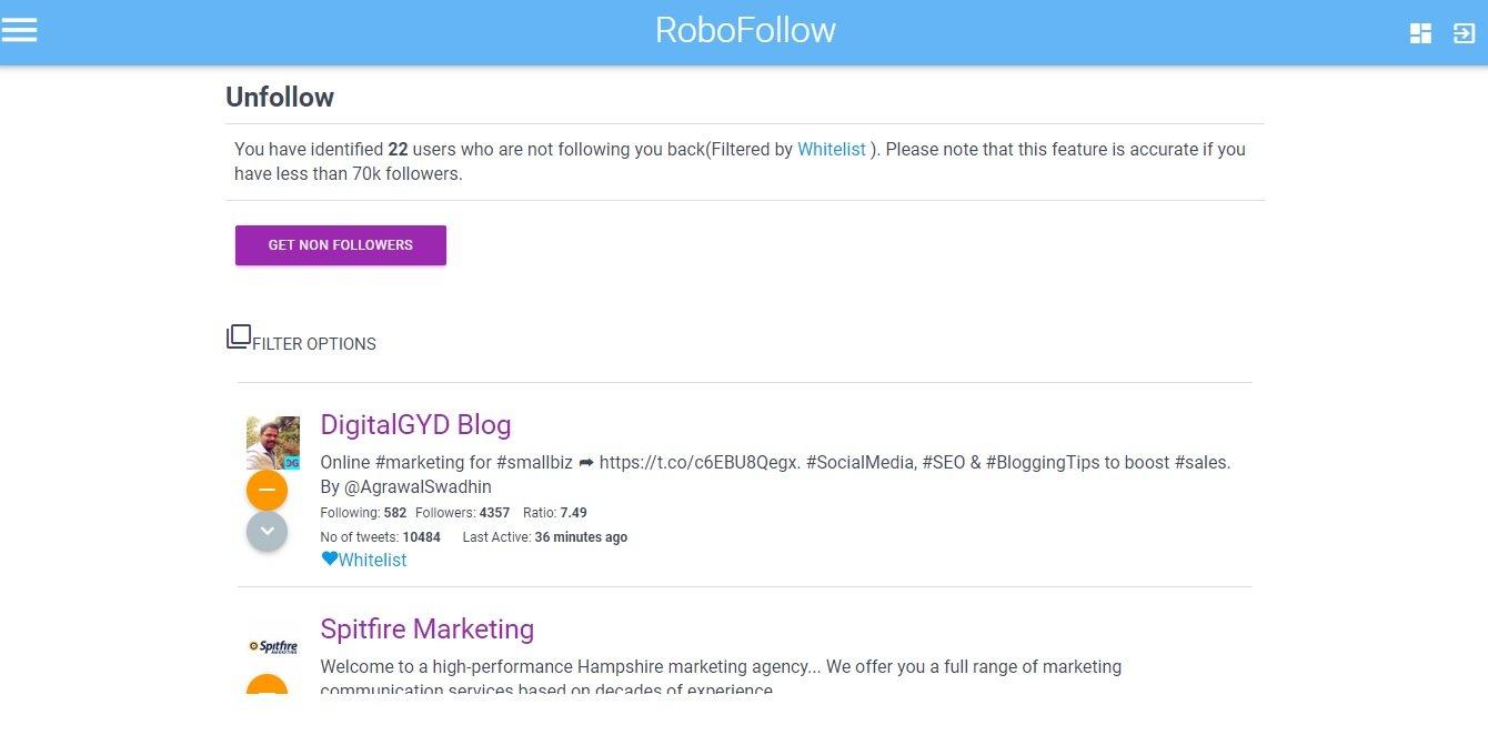robofollow free twitter unfollow bulk