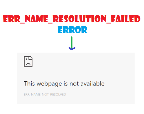 Permanently fix ERR_NAME_RESOLUTION_FAILED error