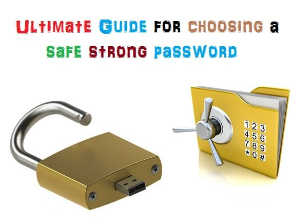 Ultimate Guide for choosing strong passwords with tools