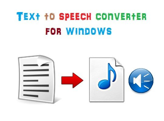 Text to voice converters , TTS software for Windows