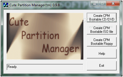 Cute Partition Manager  - partitioning software review