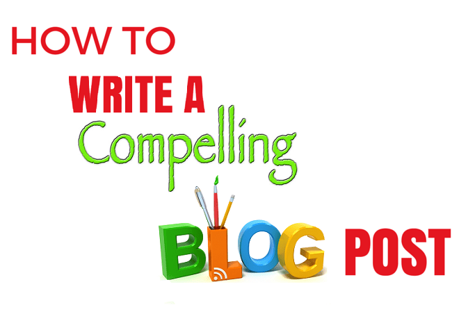 How to write a compelling blog post