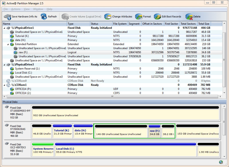Active@ Partition Manager  - partitioning software review