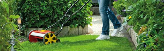 Manual Cylinder Lawn Mowers