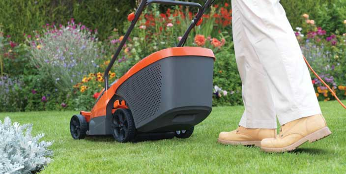 Hover lawnmowers