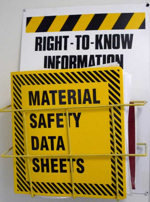 How Material Safety Data Sheets (MSDS) Keep Us Safe