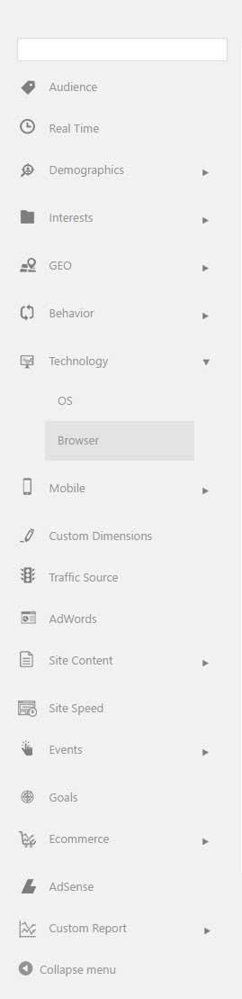 Reports - Google Analytics WD plugin
