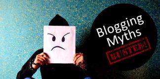 Blogging Myths Debunked busted
