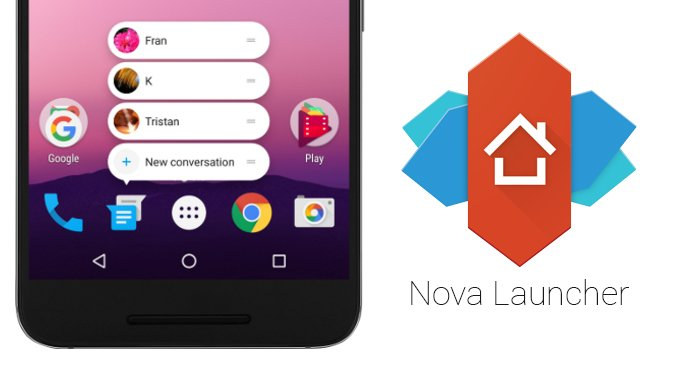 Nova Launcher: android launcher apps 2017