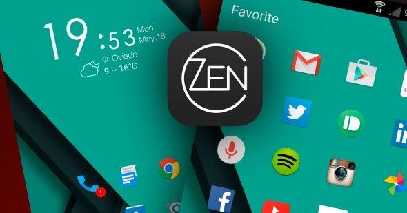 Zen Launcher: android launcher apps 2017