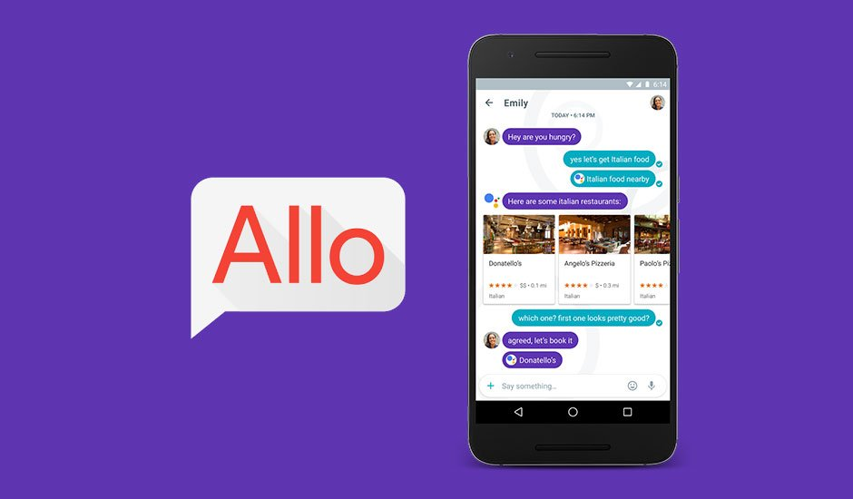 ALLO- Best apps for iOS texting and video calling