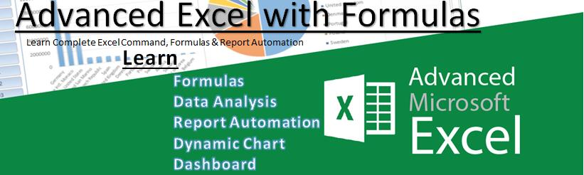 Top Benefits of learning Advanced Excel Program