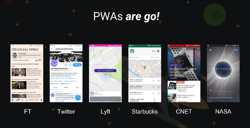 PWA - Angular brings easier progressive web Apps