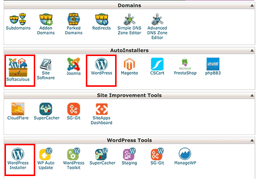 Install WordPress in Hosting