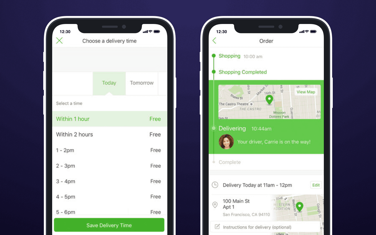 Delivery app-  Digitize Grocery Shopping and Build a Top-Notch Grocery Application