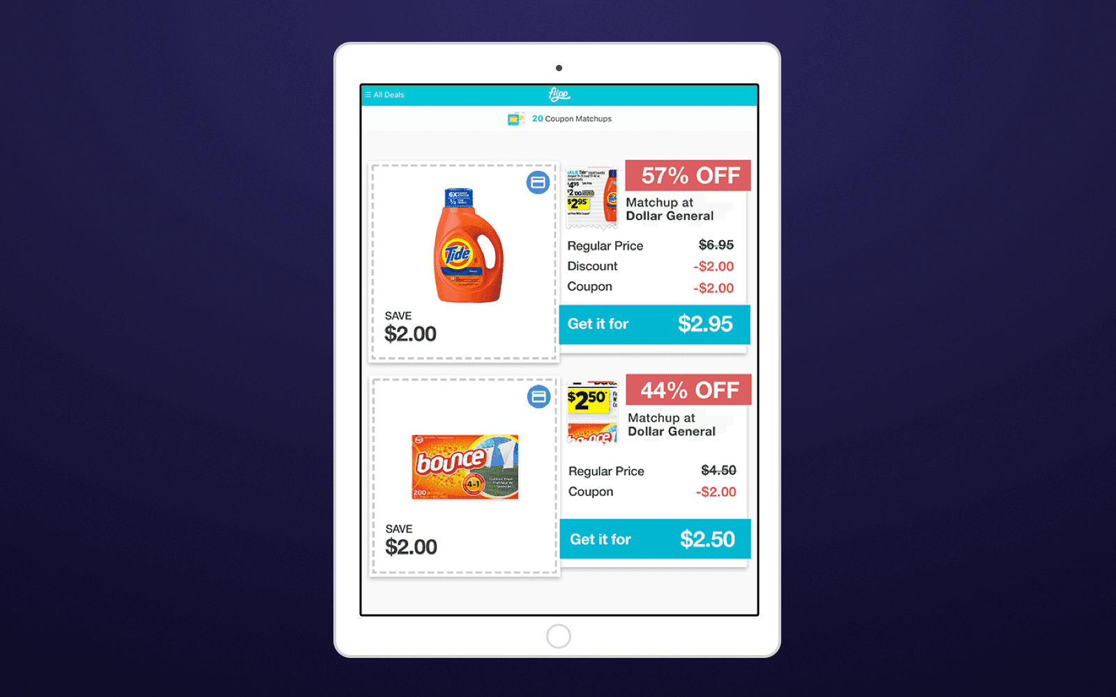Add coupons -  Digitize Grocery Shopping and Build a Top-Notch Grocery Application