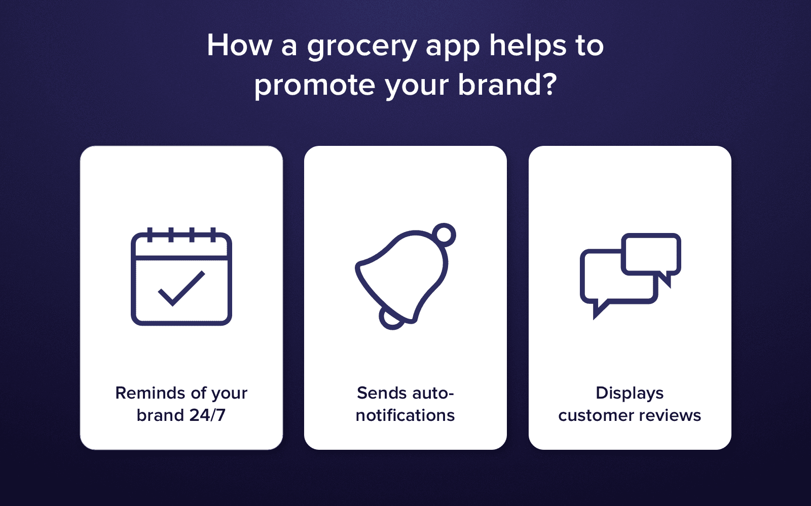 Digitize Grocery Shopping and Build a Top-Notch Grocery Application in 2018
