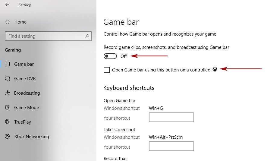Switch Off Game Bar By Using This Technique