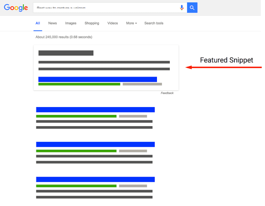 Optimize content for featured snippets.