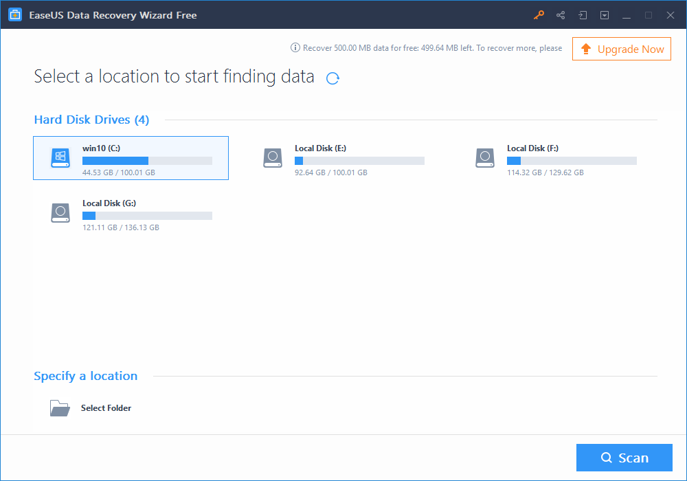 EaseUS Data Recovery Wizard: Better & reliable recovery tool