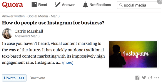 Use Visuals quora