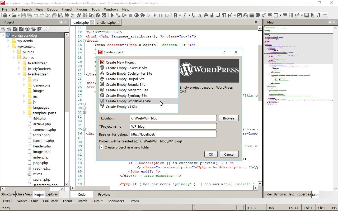 codelobster IDE for WEB Programming