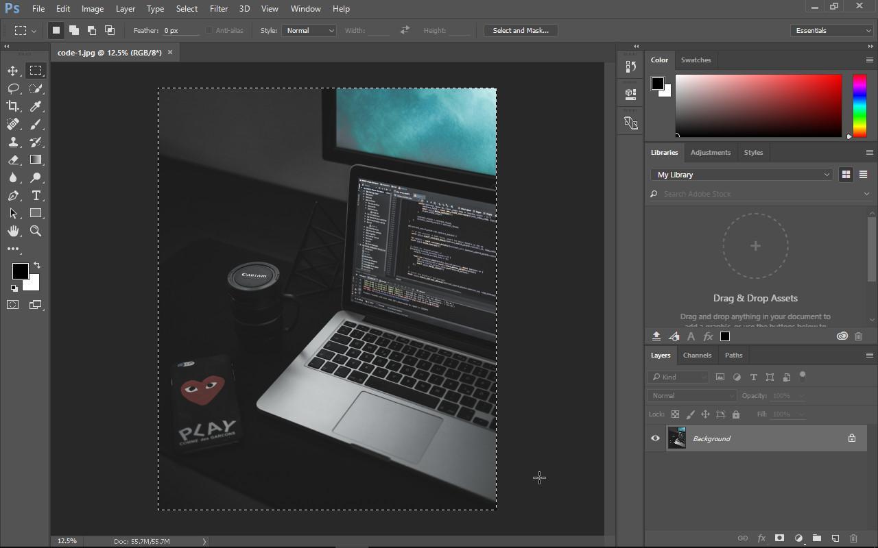 Graphics Editor - photoshop