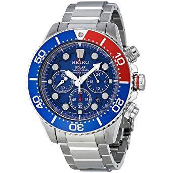 Seiko SSC019 solar dive watch: