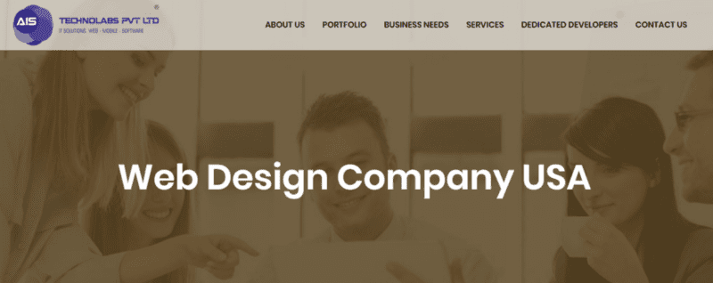 AIS Technolabs — Web design company USA