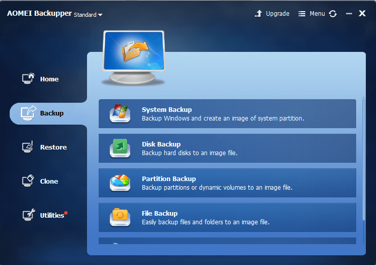 Backup Windows to an External Disk