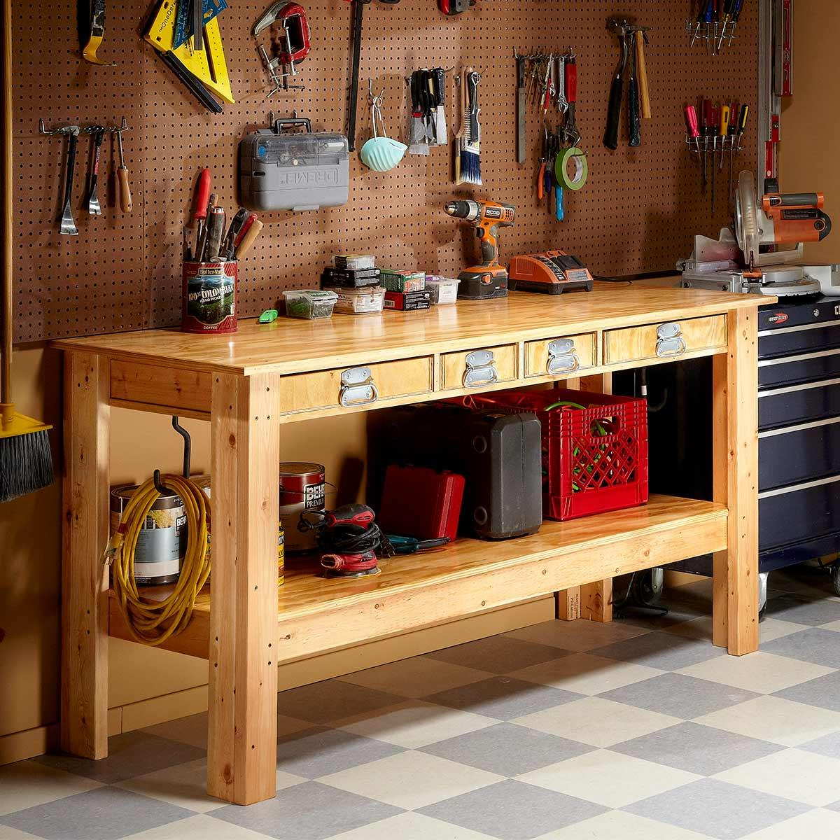 workbench - Tools You Must Have in Your Garage