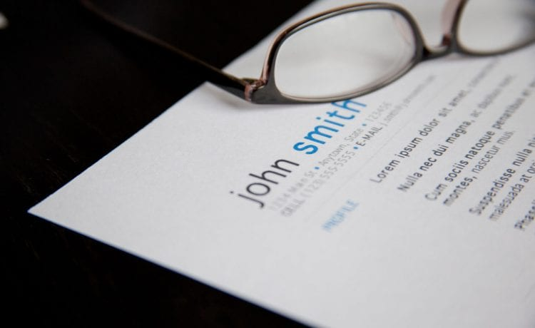 digital resume creation