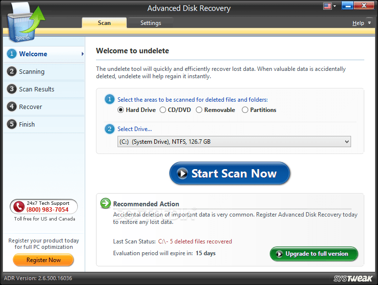 Advanced Disk Recovery - Recovery Tools for Windows PC