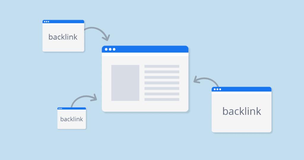 Creating backlink