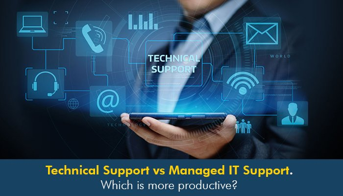 Technical Support vs Managed IT Support. Which is more productive?