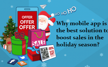 mobile app is the best solution to boost sales in the holiday season