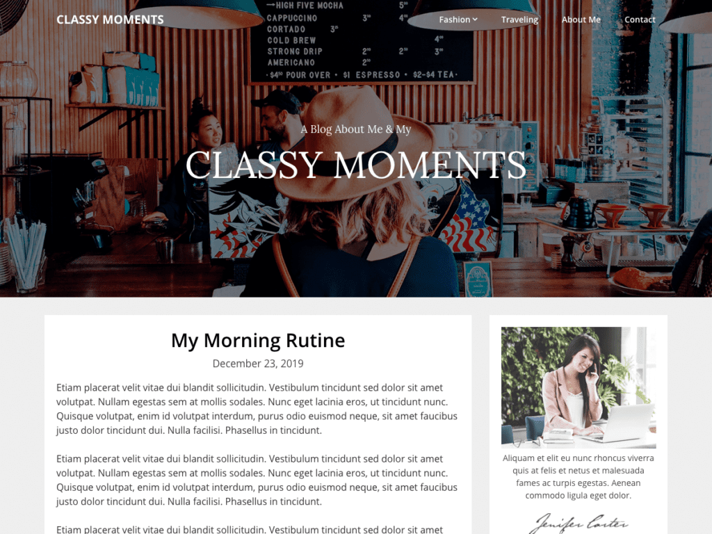 Classy WordPress Themes for Writers