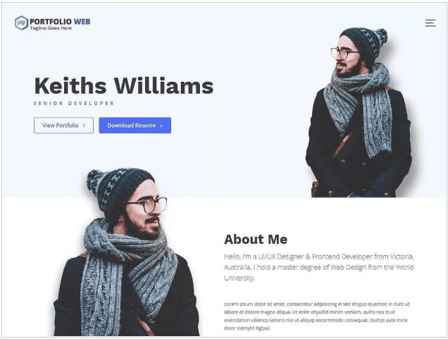Keith williams Free WordPress Themes