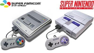 Super Nintendo Entertainment System (SNES) and Super Famicom