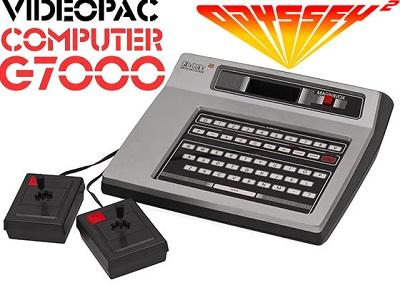 Magnavox Odyssey 2 and Phillips Videopac G7000