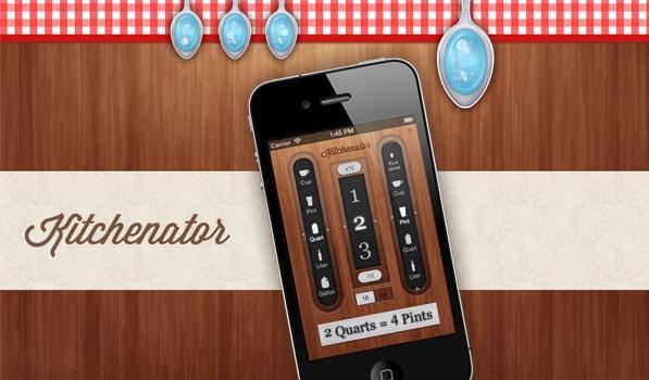 Kitchenator - Stunning and Effective App Website Designs
