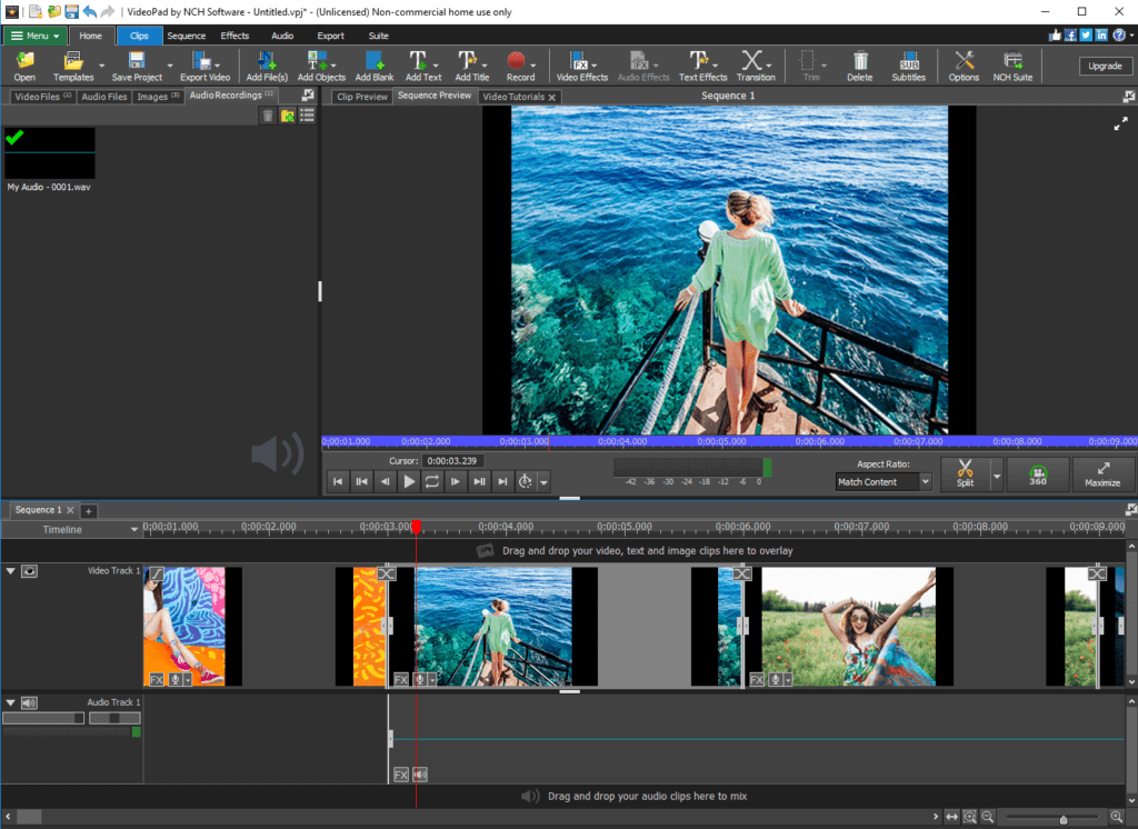 VideoPad Free & Affordable Movie Editors for Mac