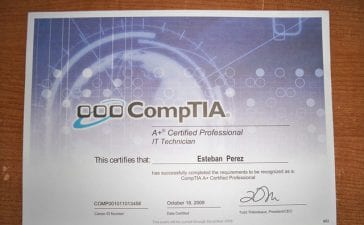 CompTIA A+: Job Roles and Salary